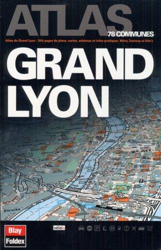 3135561209290: Atlas Grand Lyon et sa région