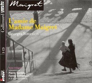 3260050671842: L'amie de Madame Maigret (coffret de 3 CD)