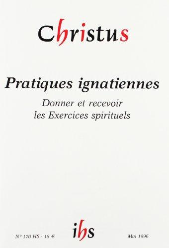 3260050952521: Revue Christus Assas Hs 170 - Pratiques Ignatiennes
