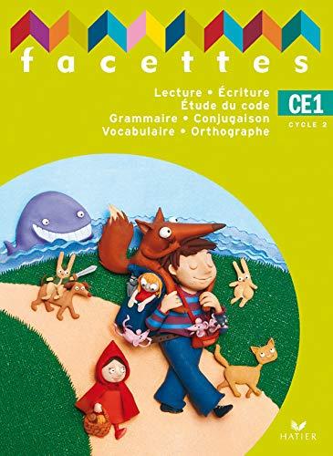 3277450093341: Facettes CE1, Manuel de l'Eleve + Livret de Code