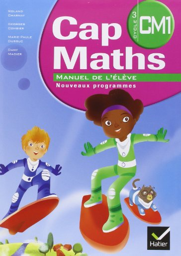 3277450093426: Cap Maths CM1 2010, Manuel de l'Eleve et Dico-Maths