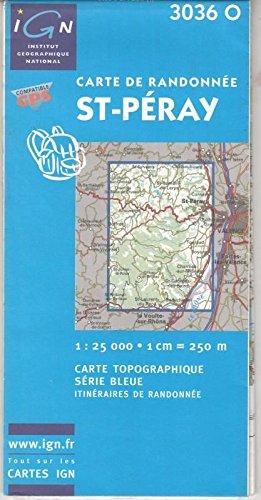 3282113036146: Carte de randonnée : St-Péray