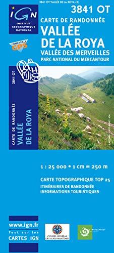 3282113841030: Carte de randonnée : Vallée de la Roya