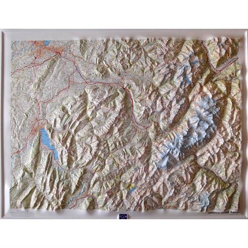 3282116014257: Annecy / Mont-Blanc : 1/100 000