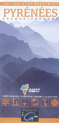 3282118301324: Carte touristique : Pyrénées - Pirineos
