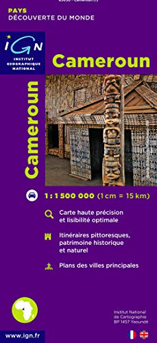 3282118503018: Carte routière : Cameroun