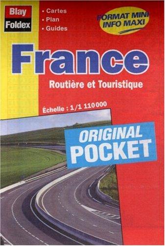 3292110010100: Carte routière et touristique : France (format pocket)