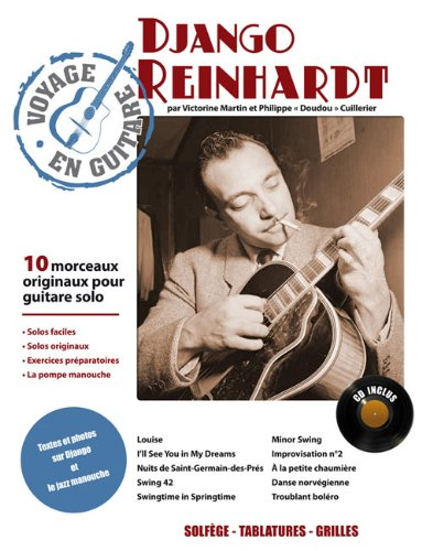 3554270001856: VOYAGE EN GUITARE ; DJANGO REINHARDT