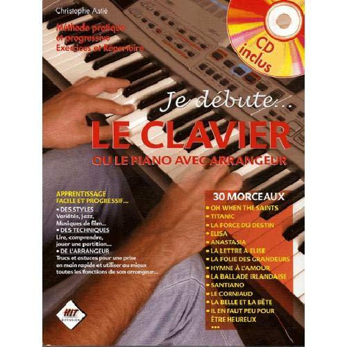 3554270010032: Je debute le clavier (+ 1 cd)