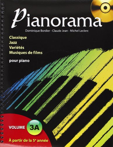 3554270270047: PIANORAMA VOL.3A 5EME ET 6EME ANNEES DE PIANO
