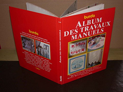 ALBUM DES TRAVAUX MANUELS.FILET AU CROCHET.POINT DE: Burda