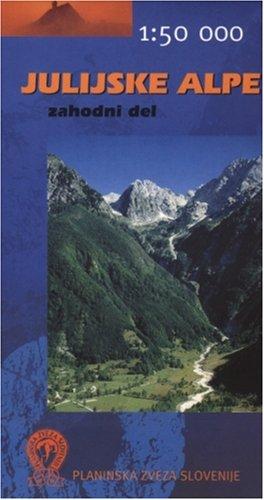 Julijske Alpe zahodni del 1:50.000: Geodetski Zavod