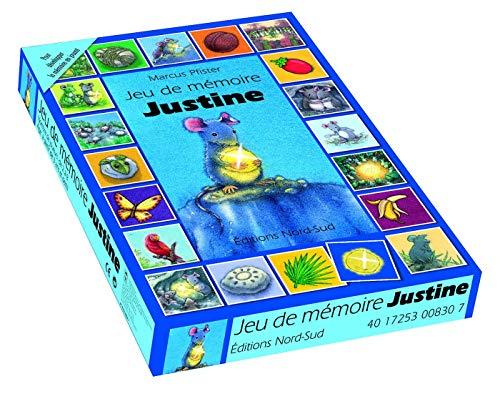 4017253008307: JEU DE MEMOIRE JUSTINE