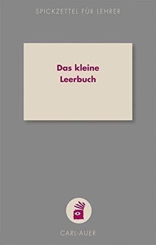 Auer, C: kleine Leerbuch/Notizbuch