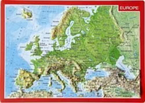 Reliefpostkarte Europa: Markgraf, André; Engelhardt,