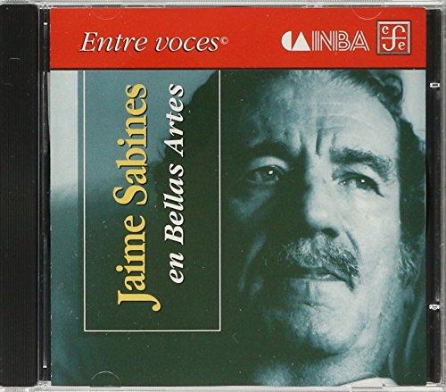 Jaime sabines en bellas artes (CD): SABINES, JAIME
