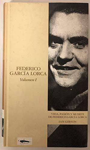 FEDERICO GARCÍA LORCA 2 VOLS.: GIBSON, IAN