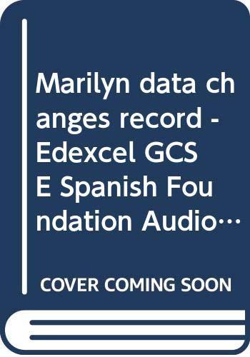 9780000003980: Marilyn Data Changes Record Edexcel G