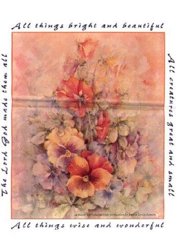 9780000008008: Floral Merchandise Bag: 15x18