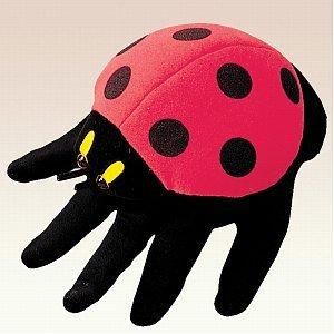 9780000012913: Folkmanis Ladybird Puppet