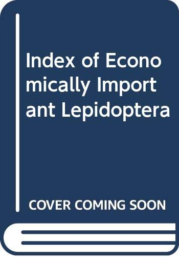 9780000025401: Index of Economically Important Lepidoptera