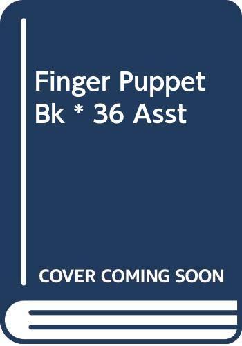 9780000026972: Finger Puppet Bk * 36 Asst