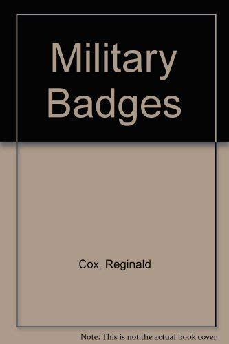 9780000050106: Military Badges