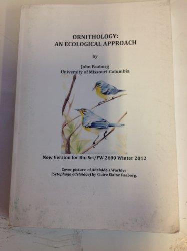 9780000050373: Ornithology: An Ecological Approach