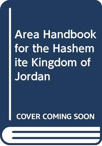 9780000054326: Area Handbook for the Hashemite Kingdom of Jordan