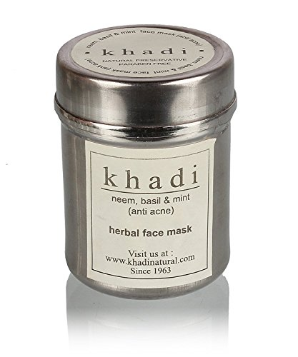9780000084774: Khadi Neem, Basil and Mint Face Pack (Anti Acne) - 50g (Pack of 2)
