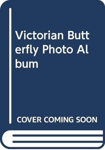 9780000100009: Victorian Butterfly Photo Album