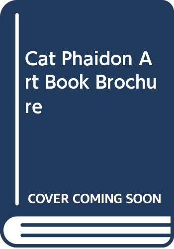 9780000101426: Cat Phaidon Art Book Brochure