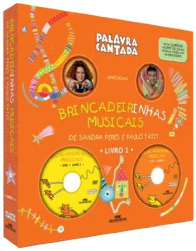9780000124630: Brincadeirinhas Musicais Da Palavra Cantada - Livro 1 (+ DVD + CD) (Em Portuguese do Brasil)