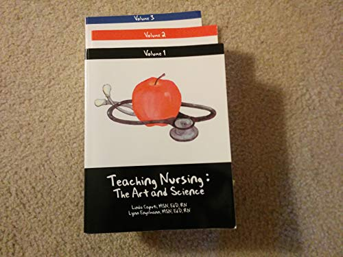 9780000355003: Teaching Nursing Set: Vols 1,2&3: The Art and Science