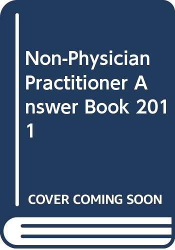 9780000470126: Non-Physician Practitioner Answer Book 2011