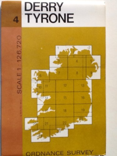 9780000476616: Derry & Tyrone Map