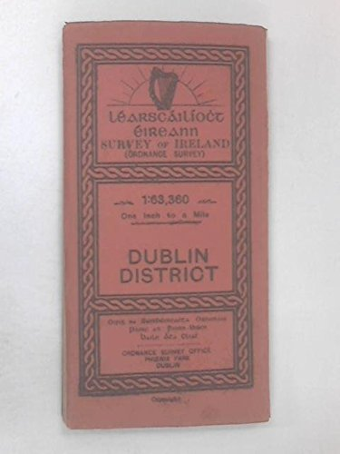 9780000476845: District Map of Dublin