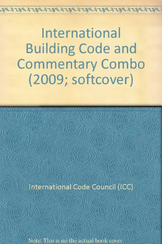 9780000663023: 2009 International Building Code and Commentary Combo