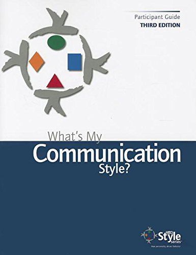 9780000764034: What's My Communication Style?: Self Assessment