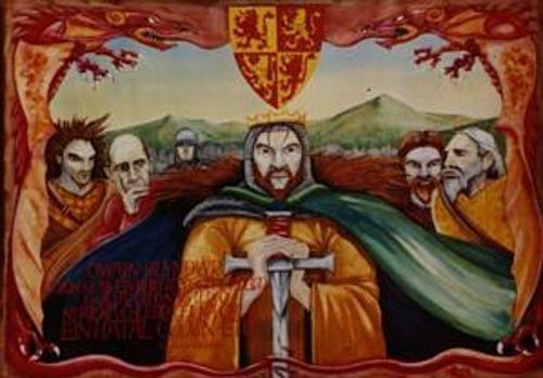 9780000773340: Owain Glyndwr Poster