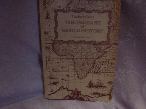 9780000785398: Teacher's Guide the Pageant of World History
