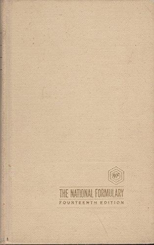 9780000846419: National Formulary XIV