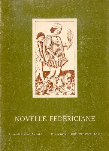 9780000998811: novelle federiciane
