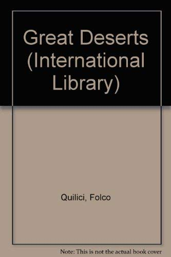 9780001001145: The great deserts (International library)