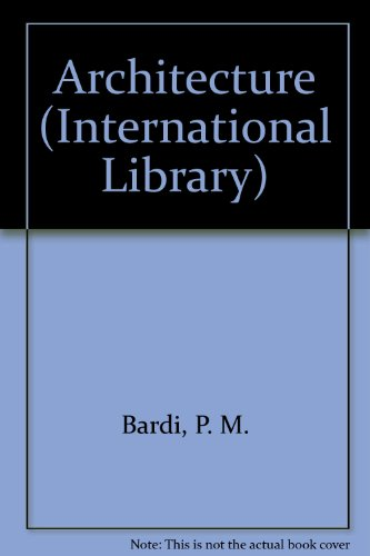 9780001001213: Architecture (International Library)