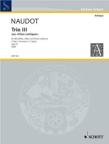 9780001003002: Trio III C major op. 8 (from