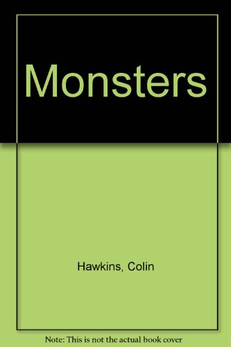 9780001006447: Monsters