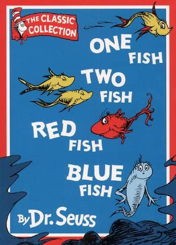 9780001007307: One Fish, Two Fish, Red Fish, Blue Fish (Book & Tape)