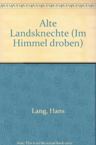 9780001007550: Alte Landsknechte - TTBB - SCORE
