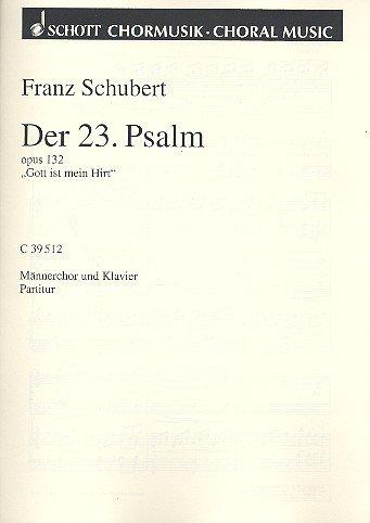 9780001008625: Der 23. Psalm Op. 132 Chant